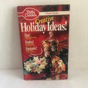 Betty Crocker Creative Holiday Ideas Booklet